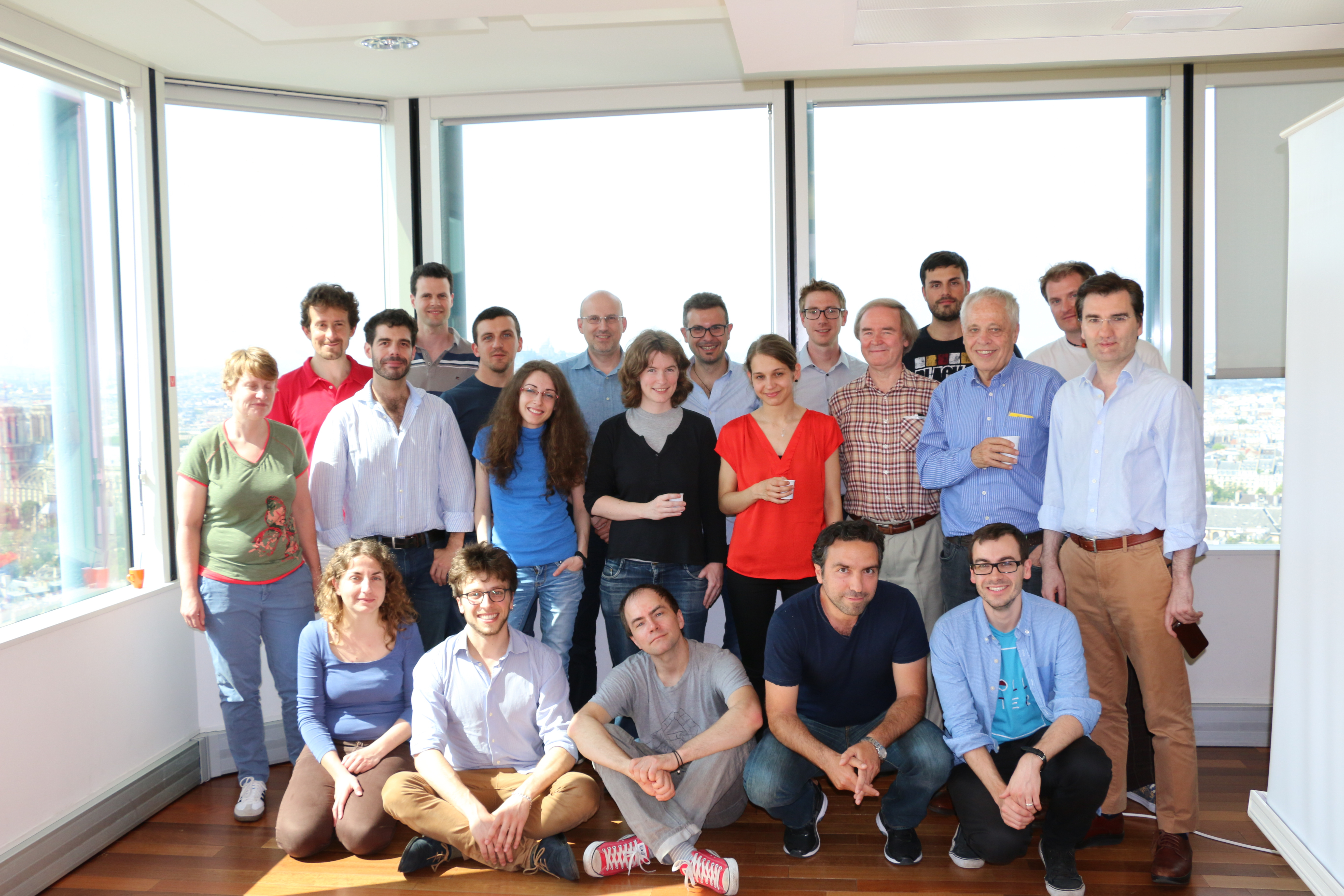 Photo of mini-workshop participants