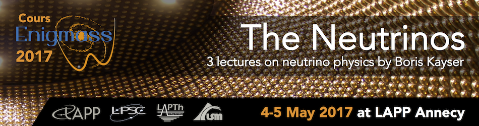The Neutrinos | Three lectures on neutrino physics by Boris Kayser