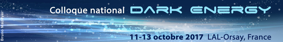 "Colloque national ""Dark Energy"""
