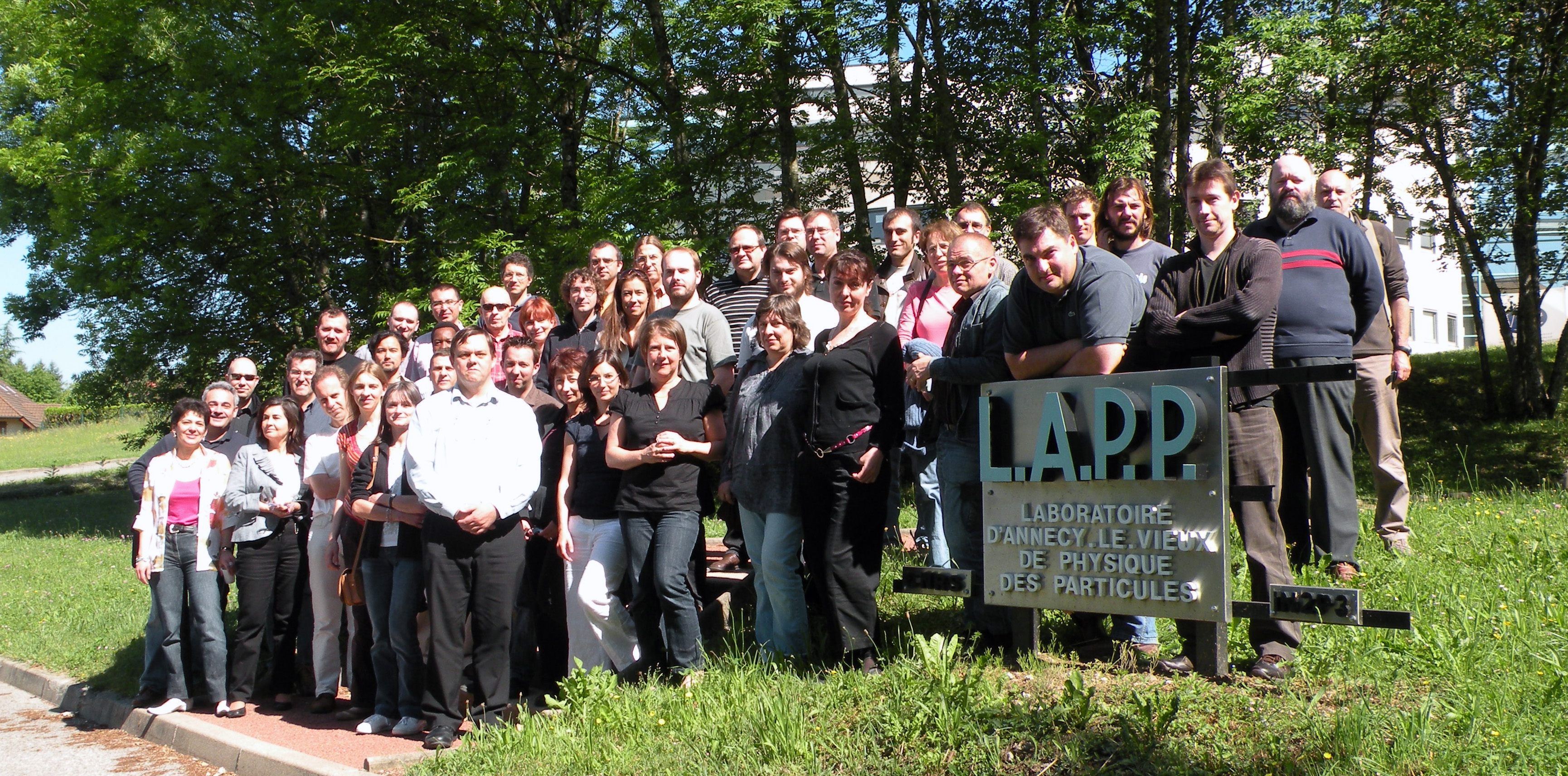 Photo de Famille LCG-France (mai 2009)