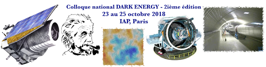 Colloque national DARK ENERGY - 2ieme édition