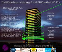 2nd Workshop on Muon g-2 and EDM in the LHC Era